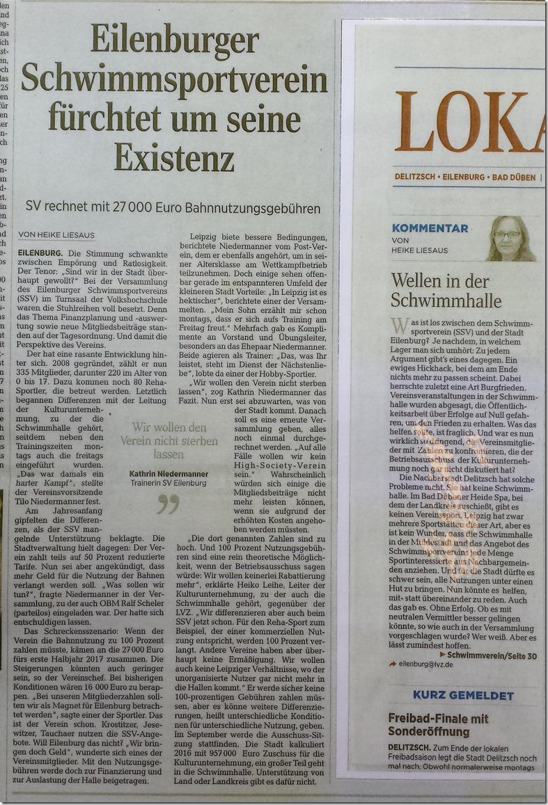 Bild Zeitungsartikel Vereinsversammlung 08_2016